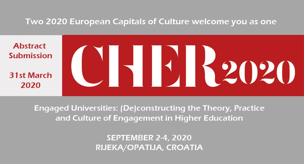 Announment CHER 2020